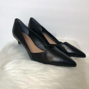 Franco Sarto pointed toe black heels